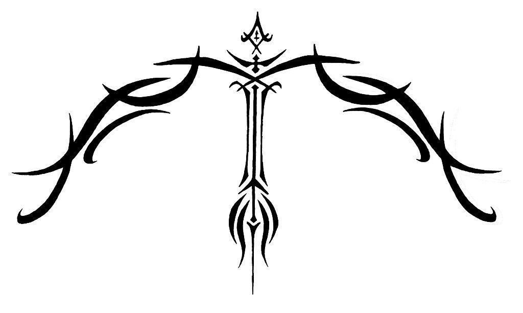 Sagittarius Symbol Tattoo Art Pinterest Sagittarius Symbol