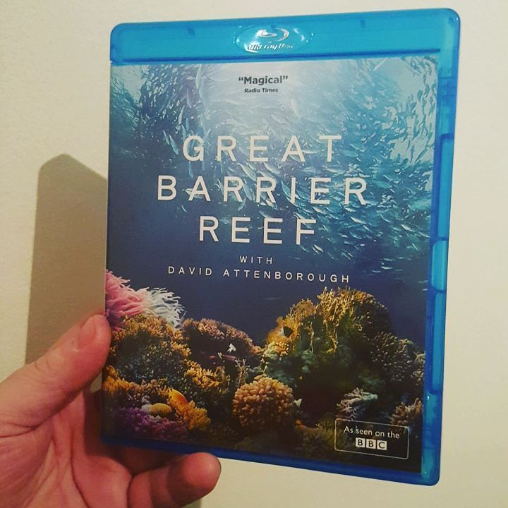 Gonna watch this tonight  #davidattenborough #greatbarrierreef #bbcearth #nature #blueray #naturelovers by therealredone http://ift.tt/1UokkV2