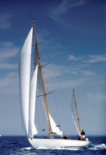 """#Dorade"", one of the most celebrated designs by #Sparkman & Stephens #S&S"