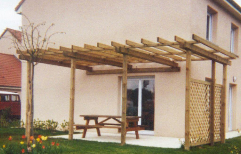 Une Pergola, tendance moderne pour couvrir une terrasse | Bois ...