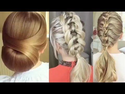 5 peinados faciles y rapidos y bonitos con trenzas p1 - Peinados faciles y bonitos ...