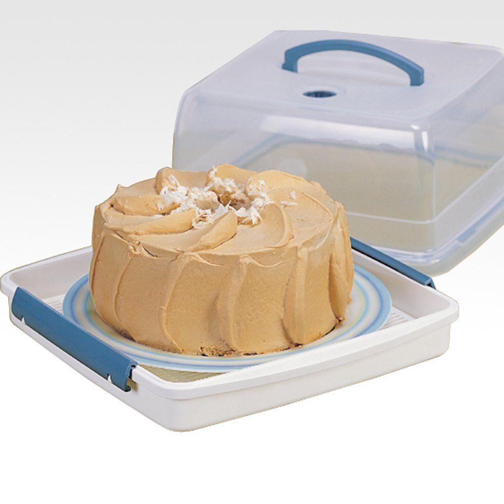 Lock lock cake storage box bread boxes
