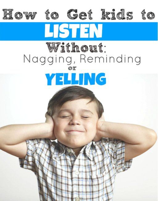 how to stop kids from yelling