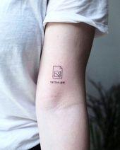 Photo of 50 süße kleine sinnvolle Tattoos für Frauen – – #beautifultattoos #Cute #Gargoy …