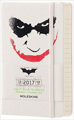 Moleskine 2017 Batman Limited Edition Daily Planner, 12M, Pocket, White, Hard Cover (3.5 x 5.5): Moleskine: 8051272892895: Amazon.com: Books