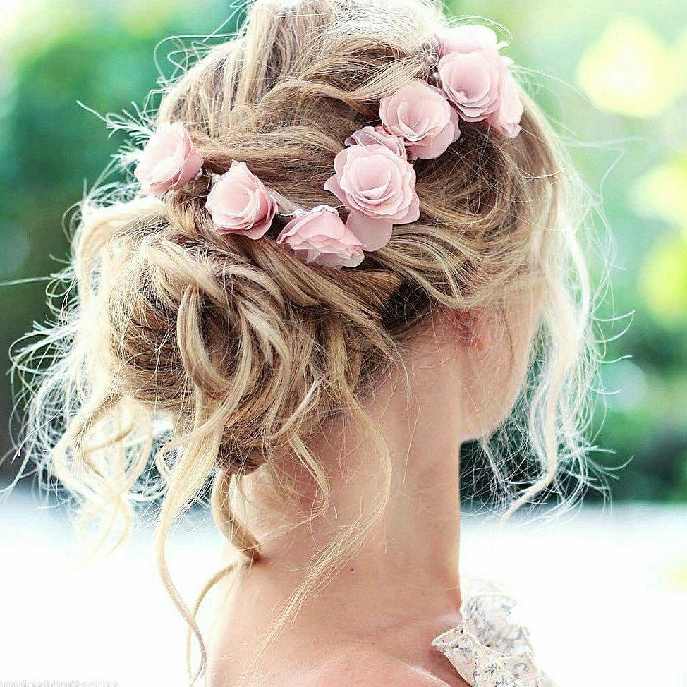 Floral Headbands for Bridesmaids: Inspired by Marie Antoinette | EB