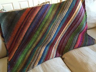 Linen Stitch Blanket done C2C - Free Crochet Pattern