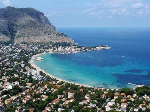 Beaches - City of Palermo, Sicily, Italy #mondello #sicilia #sicily