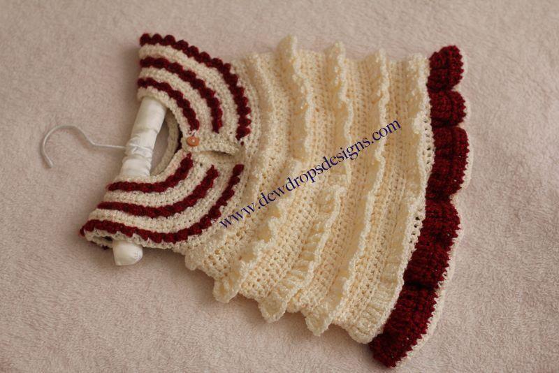 Crochet Ruffle Dress Crochet Ruffle Crocheting Patterns And Baby