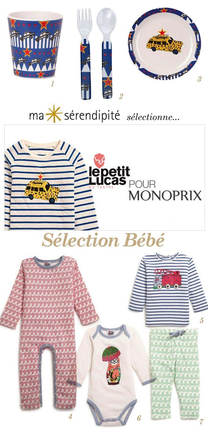 Le Petit Lucas Du Tertre Monoprix #4: Monoprix X Le Petit Lucas Du Tertre - Ma Sérendipité
