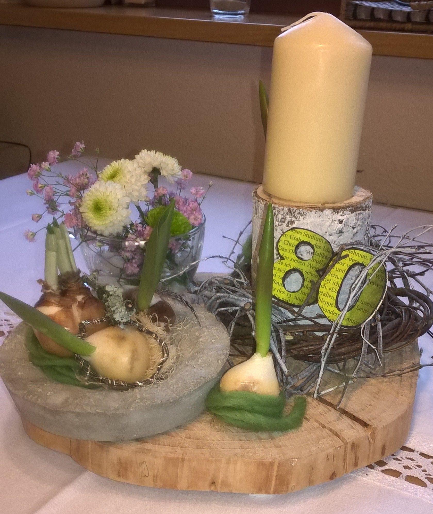 Tischdeko Zum 80 Geburtstag Geburtstag Dekoration 80