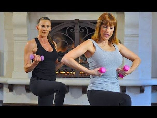 Pilates Workout at Home - Full Body Strengthening Pilates Workout with Weights - Dumbbell Exercises - YouTube #pilates #pilates #at #home #pilates to strengthen back #pilates at home #dumbbellexercises