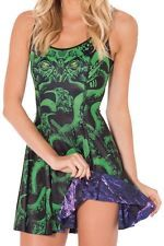 Black Milk Inside Out Dress IOD Cthulhu Vs haunted House Halloween Museum NWT XS