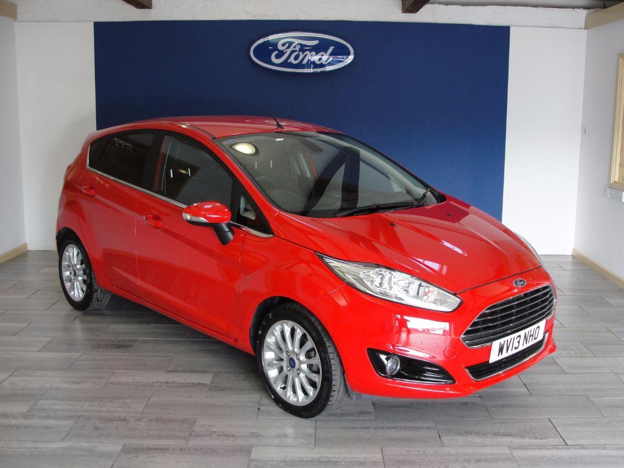 Ford Fiesta 1 0 Ecoboost Titanium X 5dr Hatchback Petrol Red