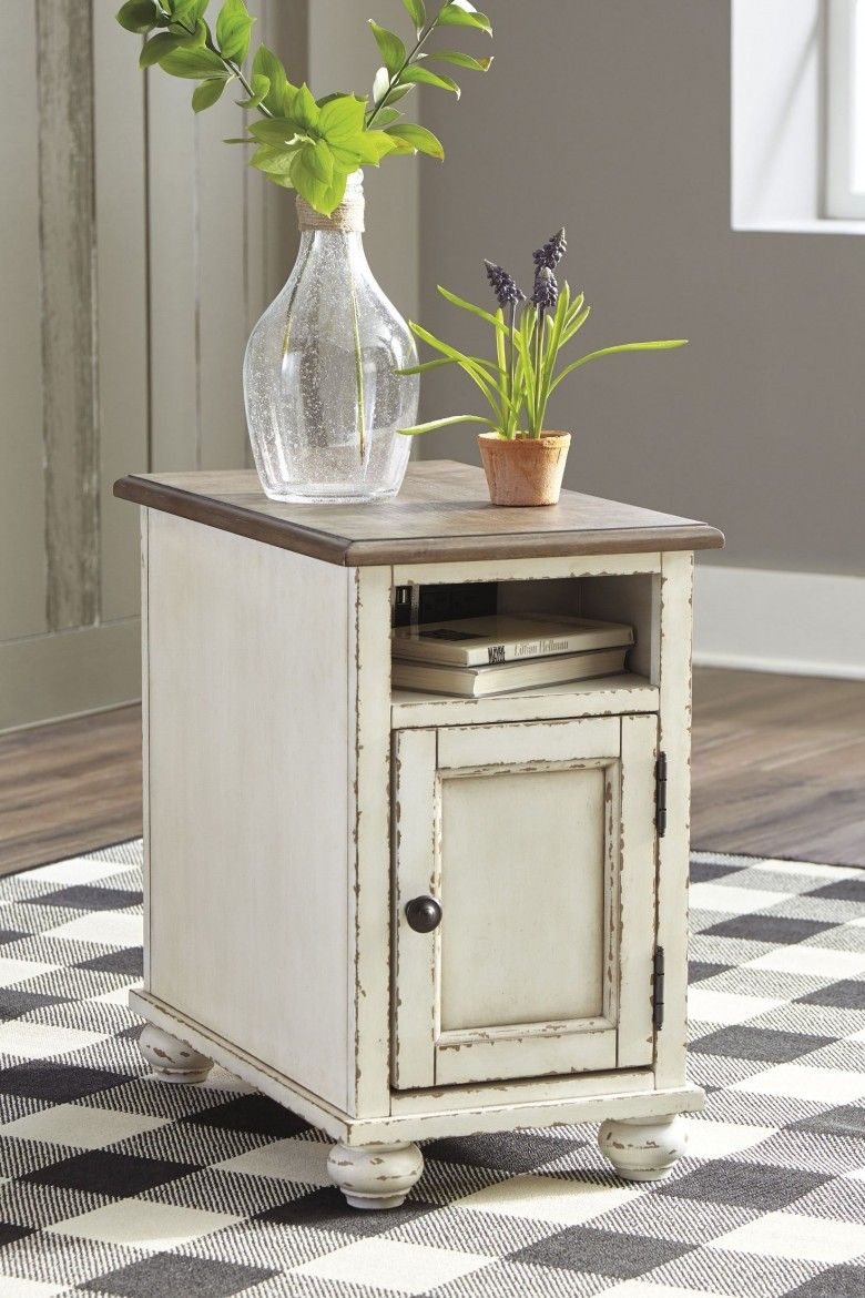 47++ Living room end tables white information