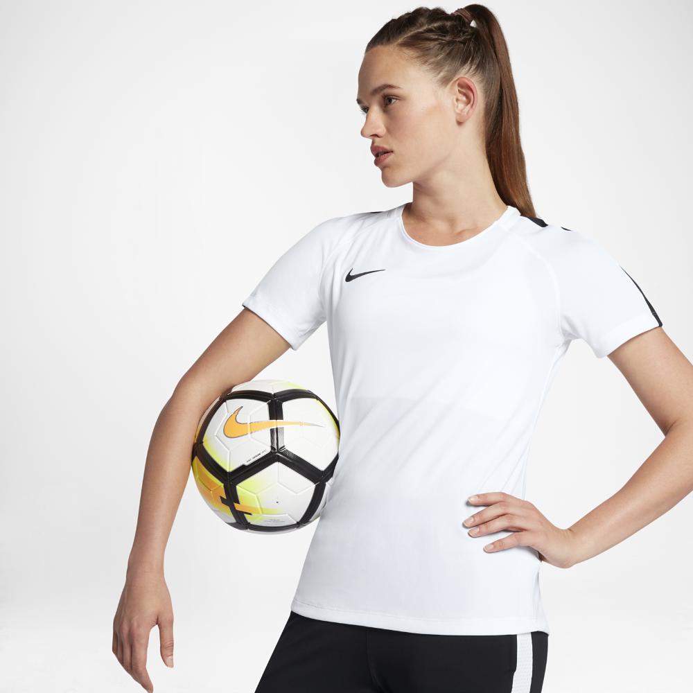 Nike Dry Academy Women s Short Sleeve Soccer Top Size  785f568b51