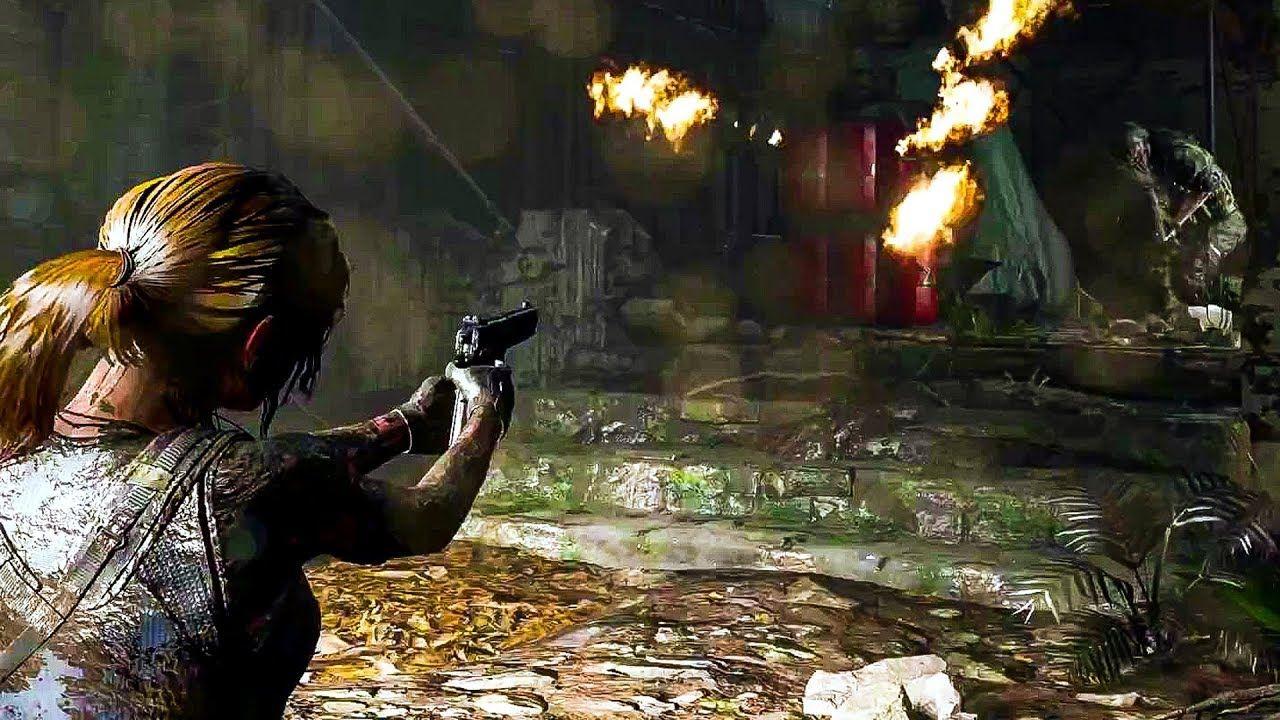 Shadow Of The Tomb Raider Gameplay Demo E3 2018 Lara