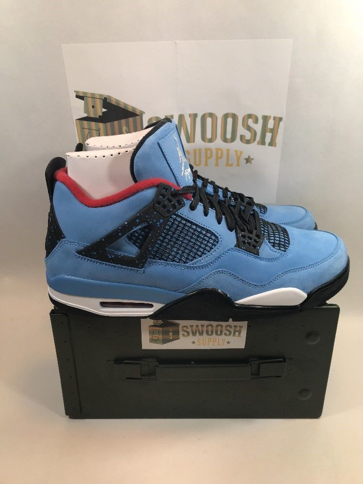 de1870671aedf7 best nike air jordan 4 retro size 12 travis scott cactus jack 308497 406 in  hand