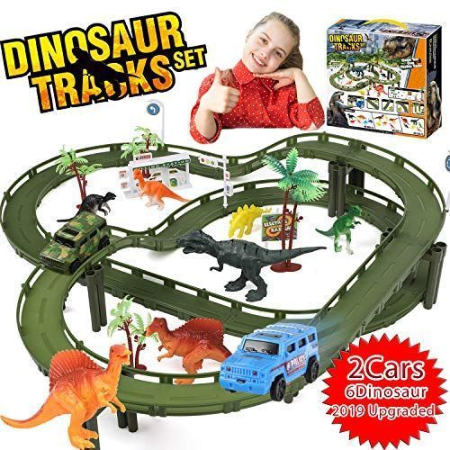 Dinosaur Toys for 3 4 5 6 7 8 Year Old Boy Girl- Race ...