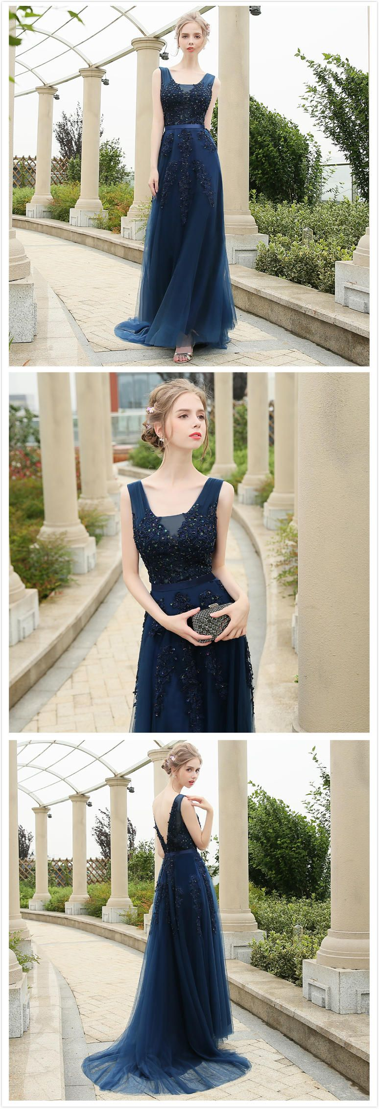610d62cad85 Azbro Women s Floral Lace Paneled V Neck Slim Fit Prom Dress ...