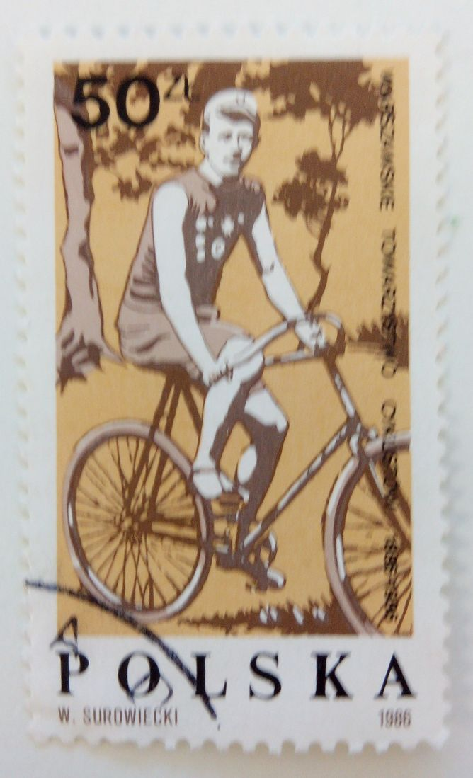 Do you love it? Share it!  Polish Bicycle Stamp Go to kollectbox.com and ask for an invitation code! #postagestamp #philately #Poland #collectors #hobby #collectibles #stamps