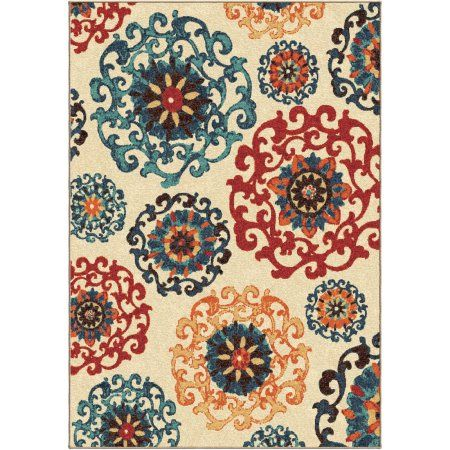 Better Homes And Gardens Suzani Area Rug Cream 6 7 X 10