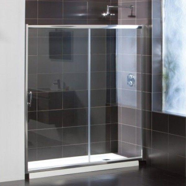 267€ Frontal de ducha SENSAI II con cristal transparente ...