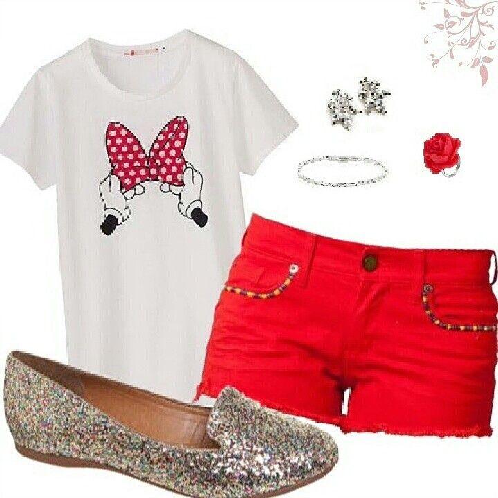 Dica de Look - Minnie Mouse como inspiração #ModaparaDepoisDeEmagrecer