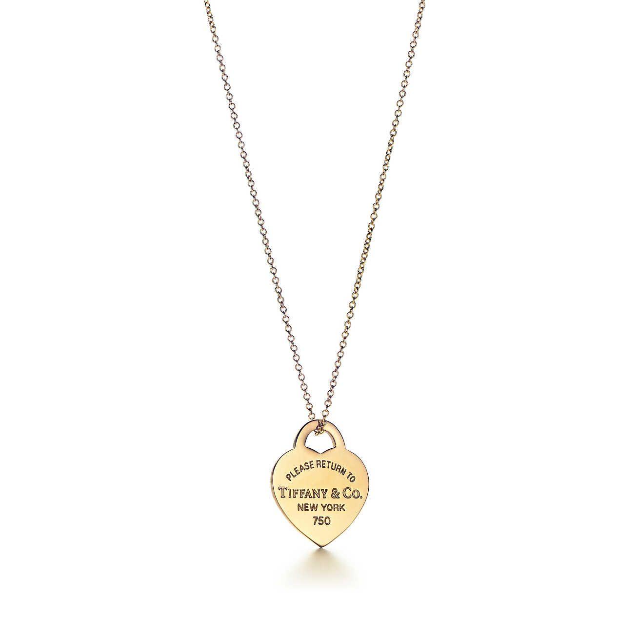 Return To Tiffany Heart Tag Pendant Tiffany Necklace Tiffany
