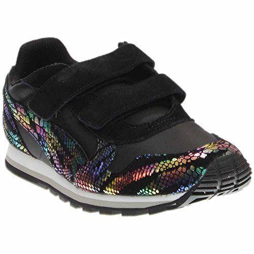 ac3c13f23e4c PUMA Kids ST Runner Sportlux V PS Sneaker Puma BlackPuma Silver 1 M US  Little Kid
