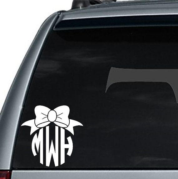 the 25  best monogram decal ideas on pinterest