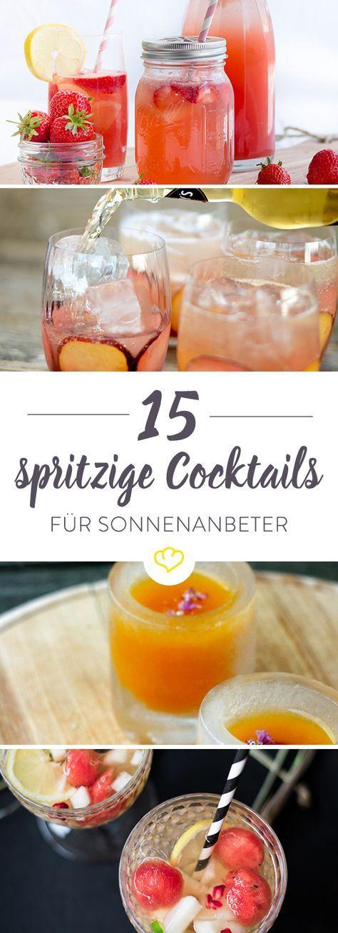 Der Sommer kommt. Und diese 15 Cocktails gleich mit. #alcoholicpartydrinks