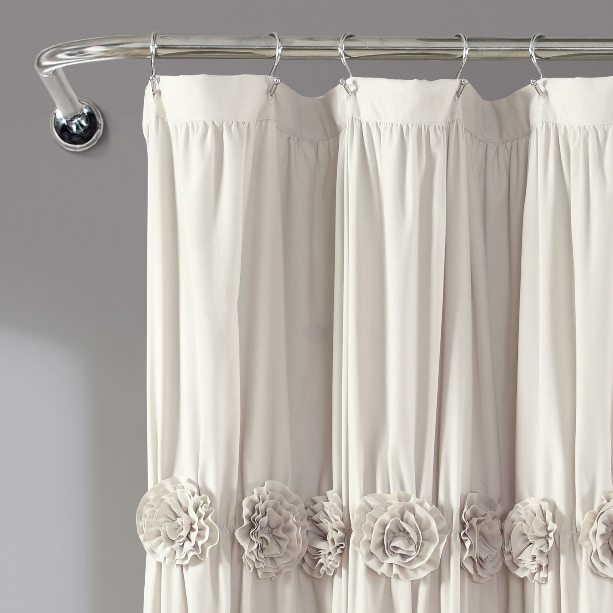 Darla 72 X 72 Shower Curtain Walmart Com In 2020 Pretty Shower Curtains Shabby Chic Shower Curtain Shower Curtain
