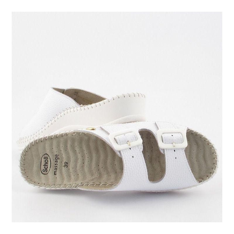 Klapki Damskie Z Regulowanym Zapieciem Przodostopia Scholl Weekend Massage Medicalbroker Pl Baby Shoes Shoes Birkenstock