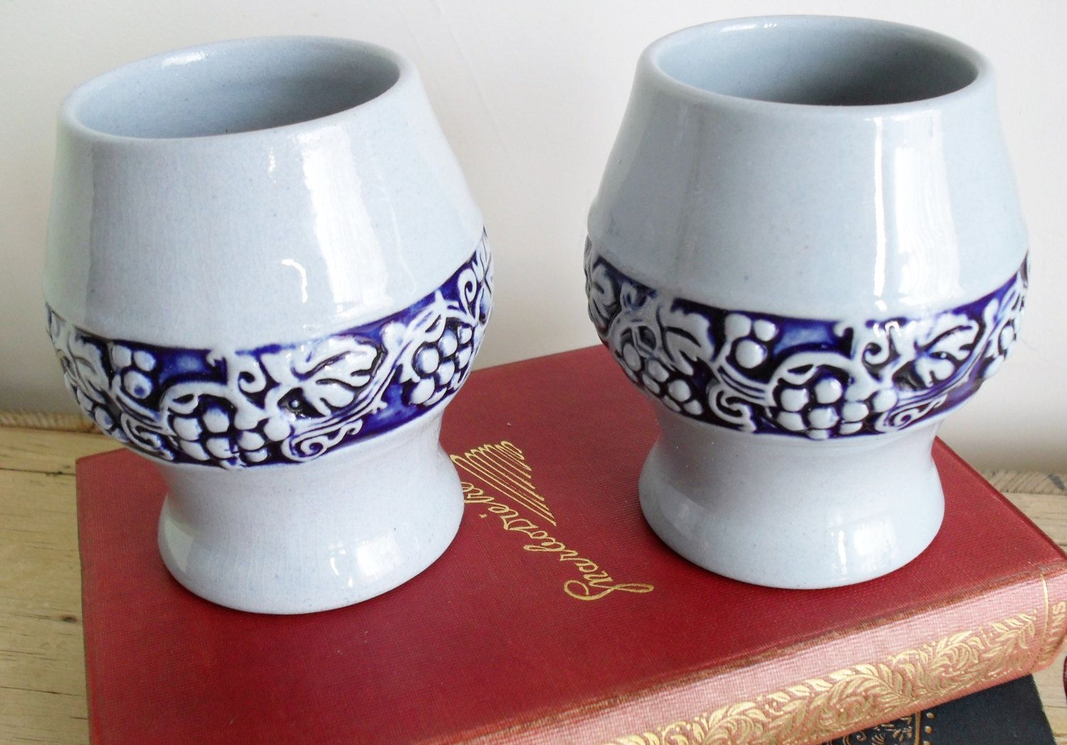 Your Place To Buy And Sell All Things Handmade Wine Cups German Wine Vintage German