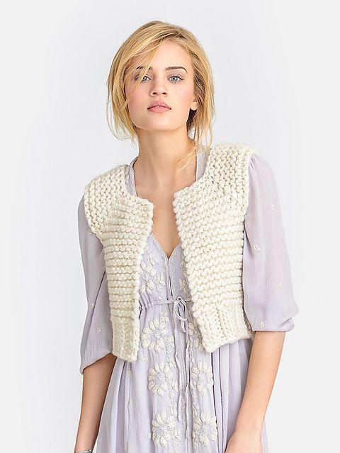 Blue Sky Bulky Lanesboro Vest Knitting Pattern PDF   Knitted vests ...