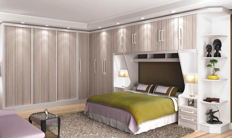 Modelos guarda roupas quarto pequeno casal dormitorio for Dormitorios modulares matrimoniales