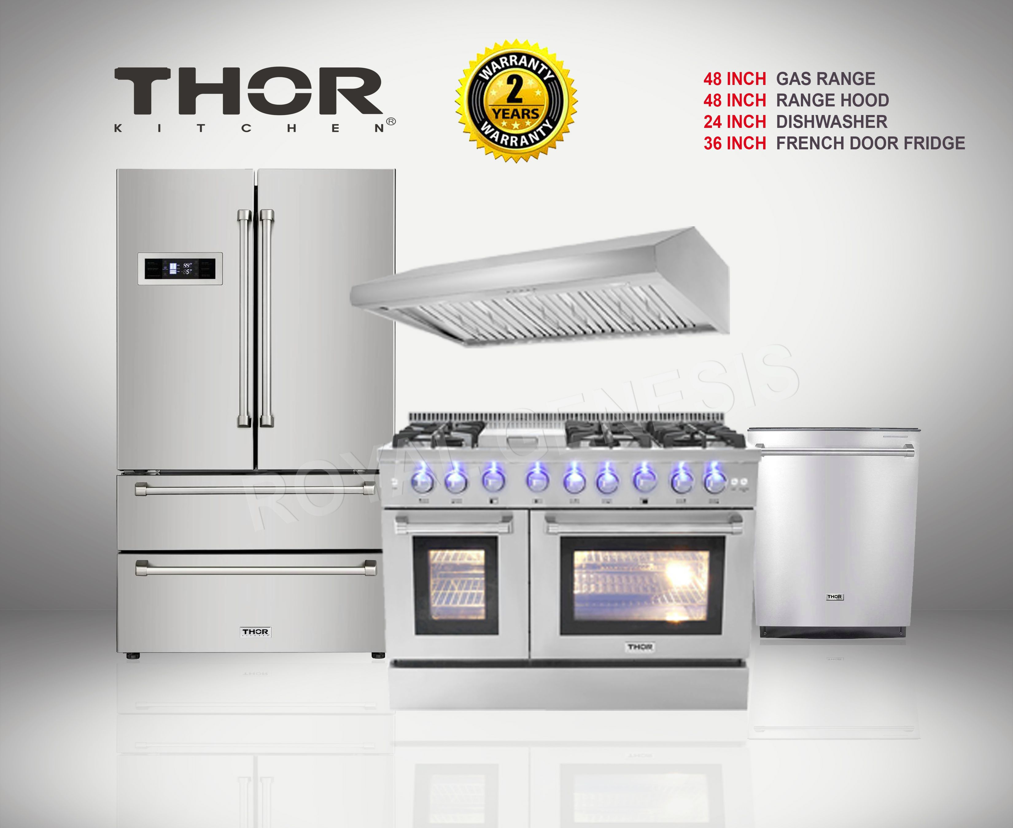 Thor Kitchen Pro Suite Kitchen Range Hood Kitchen Range Glam House