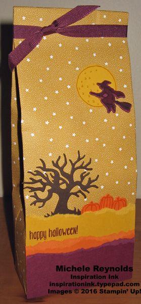 Last Minute Halloween Treat Ideas Gifts - Pretty Packaging - halloween gift bag ideas