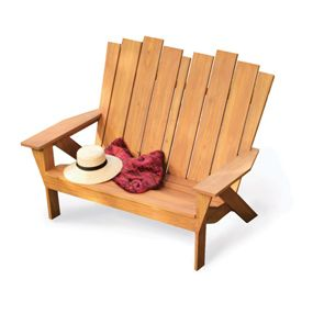 How to Make an Adirondack Chair and Love Seat » The Homestead Survival