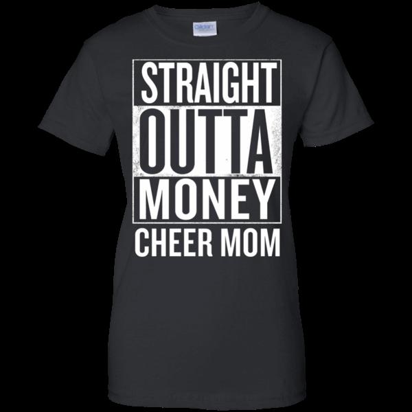 8308ce30f6881c7f1ba1959e600423f8 nice shirt! straight outta money cheer mom funny meme t shirts t