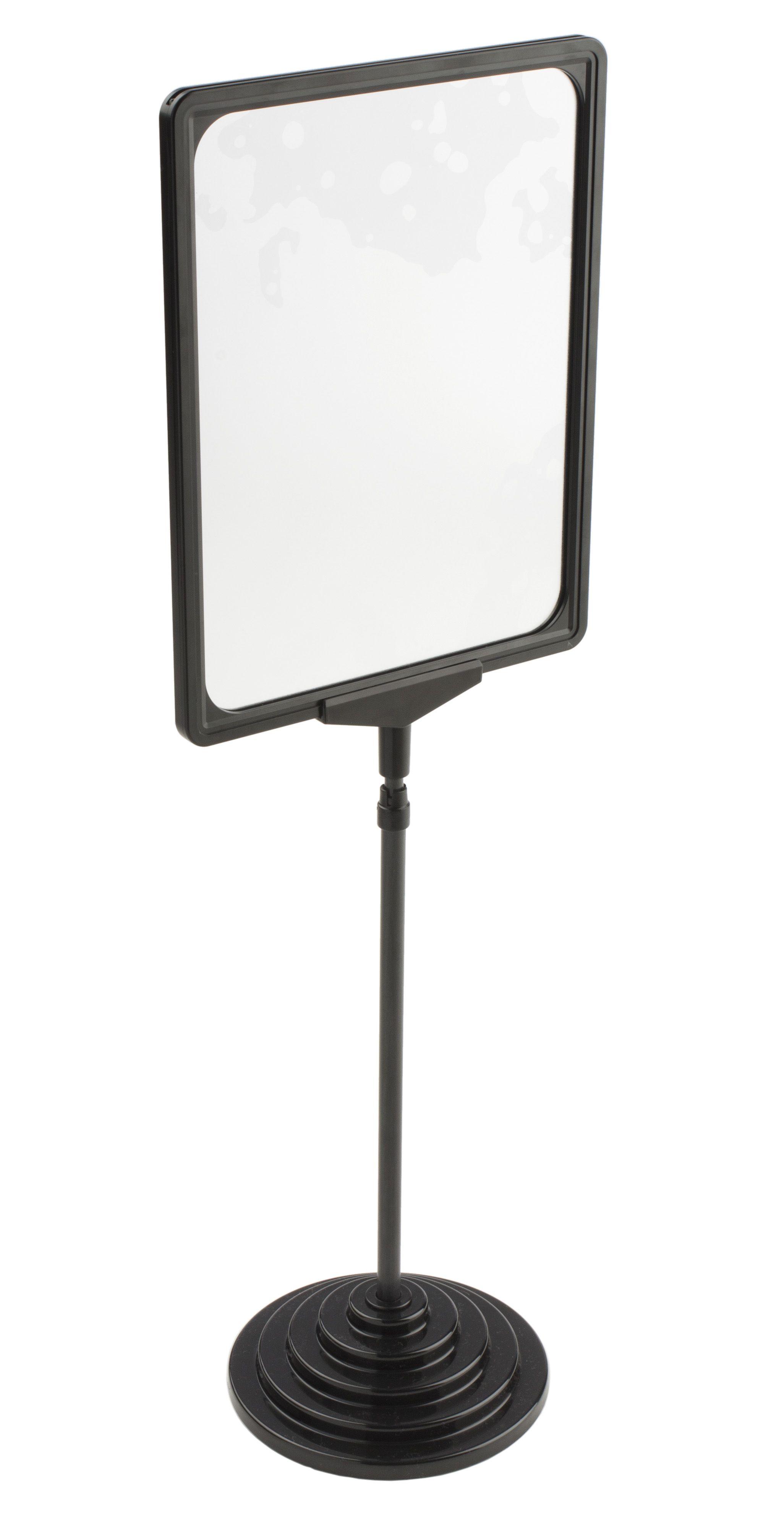 8 5 X 11 Sign Holder For Counter Floor Adjustable 2 Insert