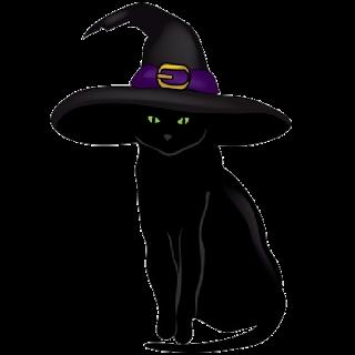 Halloween Black Cat Halloween Cartoon Clip Art Cat Clipart Black Cat Tattoos Black Cat Art