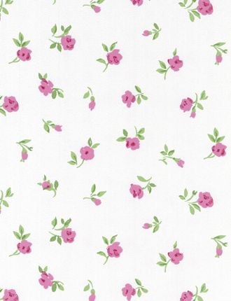 Belle Mini Flowers Wallpaper From The Belle Rose Collection 115704