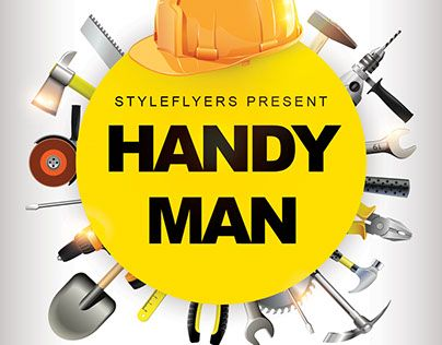 Check Out New Work Handyman Psd Flyer Template Handyman