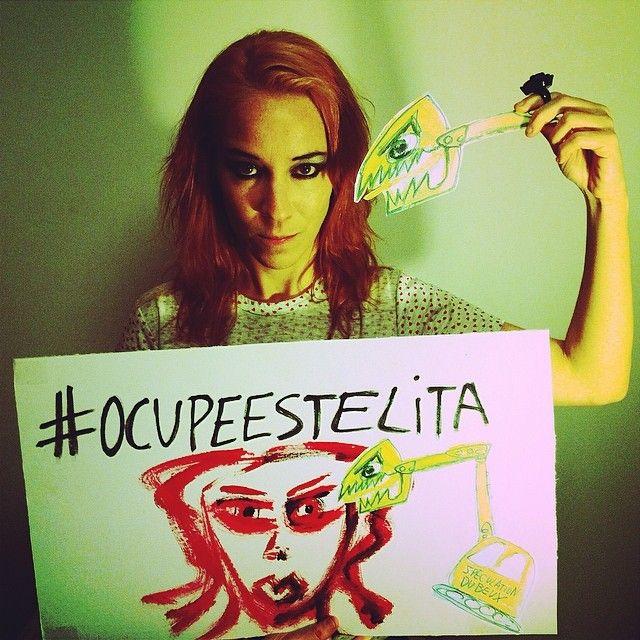 Confira uma seleção de artes gráficas e fotografias que deram ainda mais força ao movimento #ocupeestelita  http://bit.ly/1kvWPgL