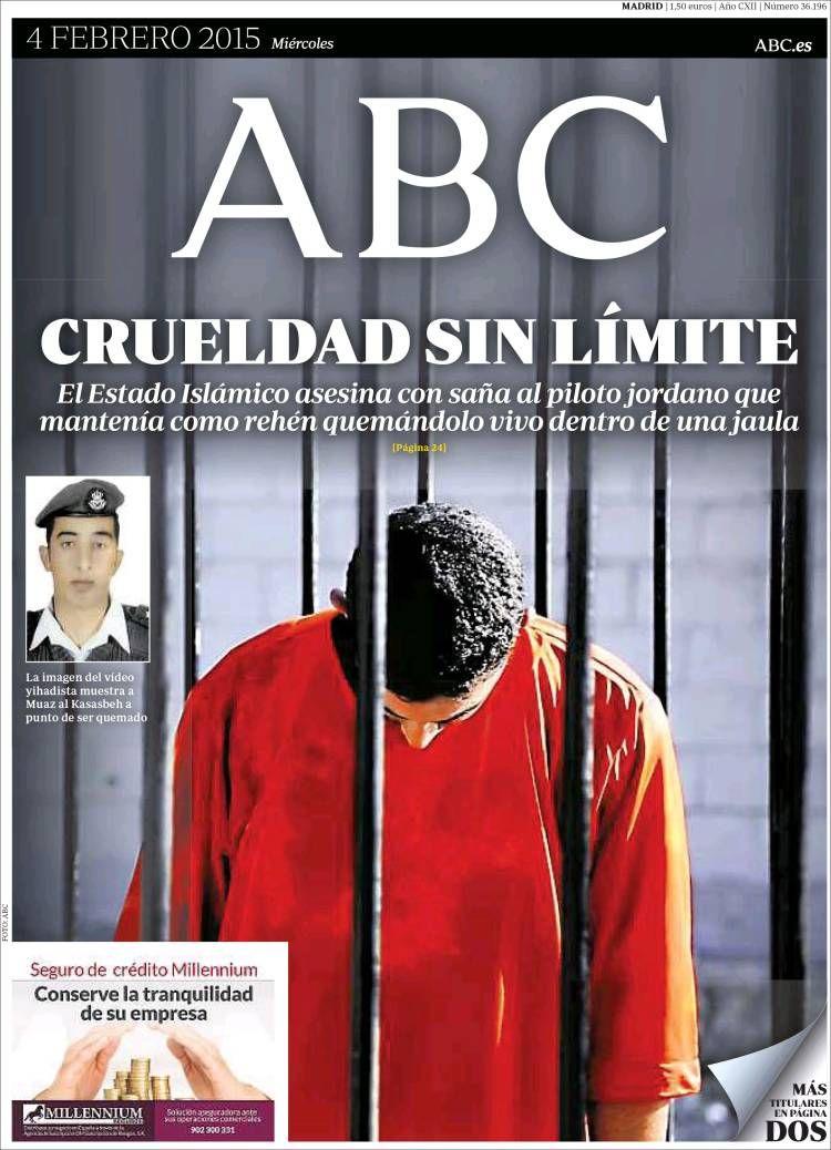 Diario ABC del 4 Febrero 2015 Recordar que puede visualizar las noticias en vídeo desde http://www.youtube.com/vendopor