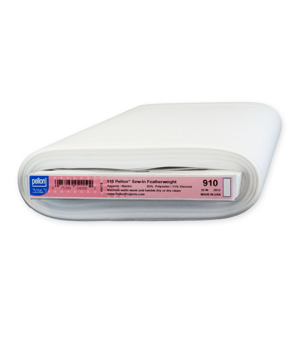 Pellon Tridimensional Fusible Interfacing 20-Inch by 25-Yard White