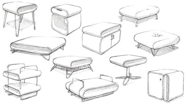 Modern Furniture Sketches Amazing Design 816999 Best Decorating ...