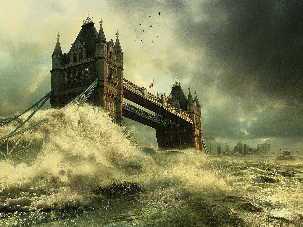 Natural Disasters Pictures Natural Disasters Ends The World In 2012 Post Apocalyptic City Bridge Wallpaper Tower Bridge
